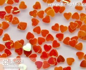 05L  3mm红色心形金葱粉